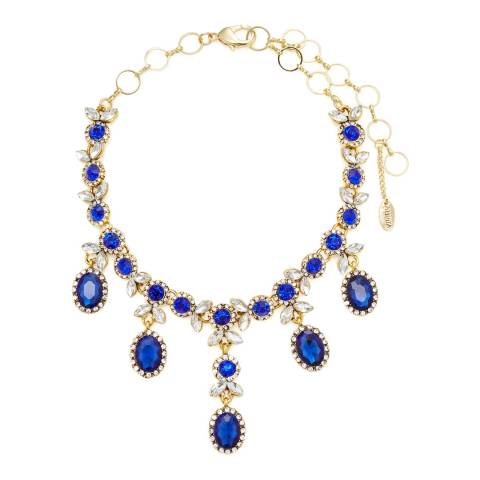 Amrita Singh Blue Sicilia Choker Necklace