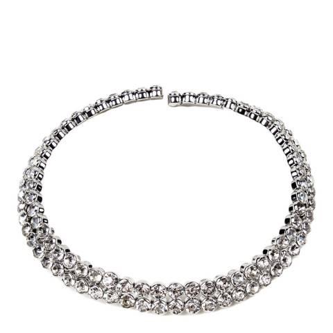 Amrita Singh Silver Iman Collar Necklace