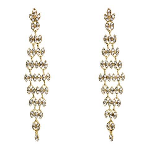 Amrita Singh Gold Gunmetal Estelle Earrings