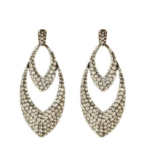 Amrita Singh Gunmetal Lesley Earrings