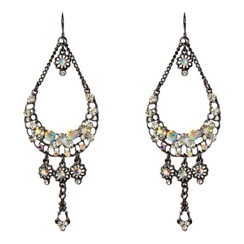 Amrita Singh Gunmetal Garsonda Earrings