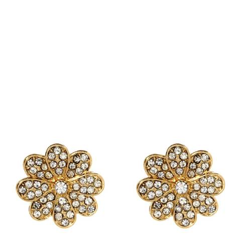Amrita Singh Gold Athena Floral Stud Earrings