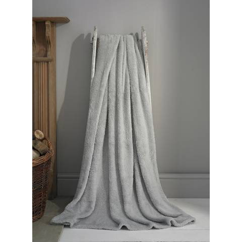 Deyongs Silver Roosevelt Throw 130x180cm