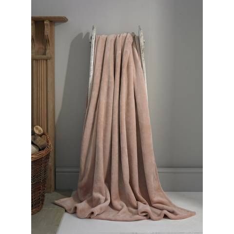 Deyongs Pink Hudson Throw 140x180cm