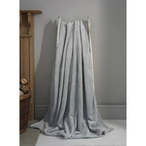 Deyongs Silver Hudson Throw 140x180cm