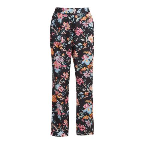 French Connection Multi Bridget Satin Trousers