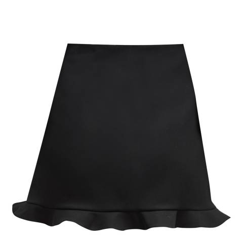 French Connection Black Sundae Suiting Mini Skirt