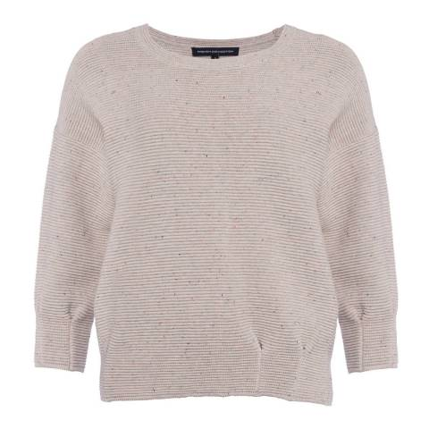 French Connection Grey Ottoman Mozart Jumper