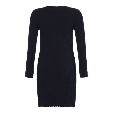 French Connection Navy Relie Knit Tunic