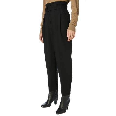 Karen Millen Black Sink Waist Trousers