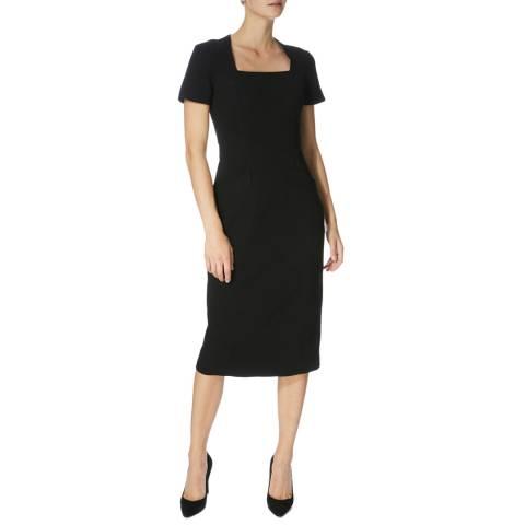 Karen Millen Black Stitch Pencil Dress