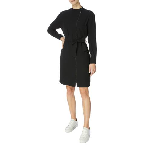 Karen Millen Black Zipfront Dress