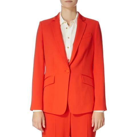 Karen Millen Red Sharp Suit Jacket