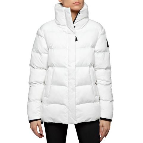 Replay White Padded Puffa Jacket