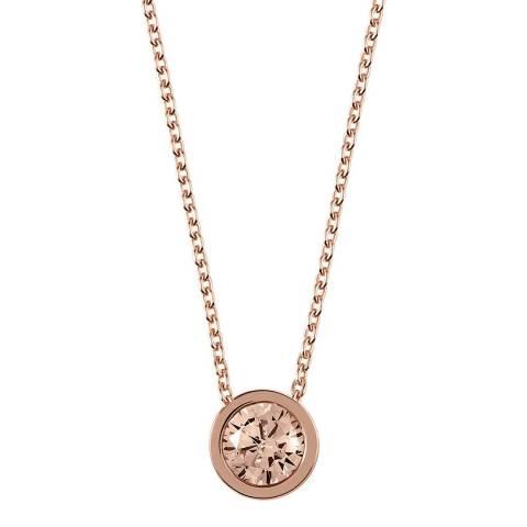 Radley Rose Gold Plated Stone Set Pendant Necklace