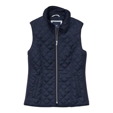 Crew Clothing Dark Navy Forres Quilted Gilet