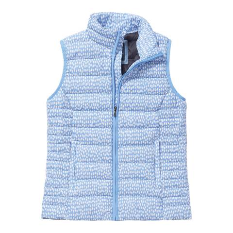 Crew Clothing Blue Lightweight Down Gilet