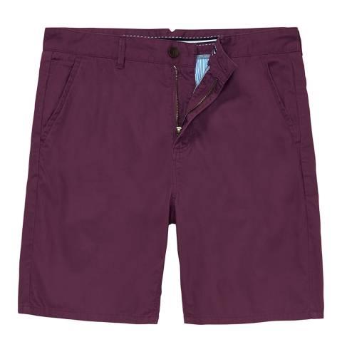 Crew Clothing Washplum Bermuda Short
