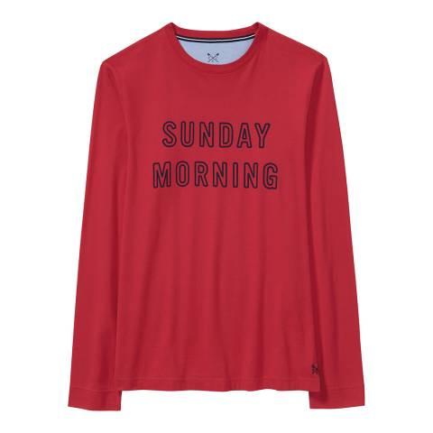 Crew Clothing Crimson Sunday T-Shirt