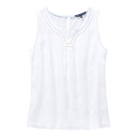 Crew Clothing White Hope Top