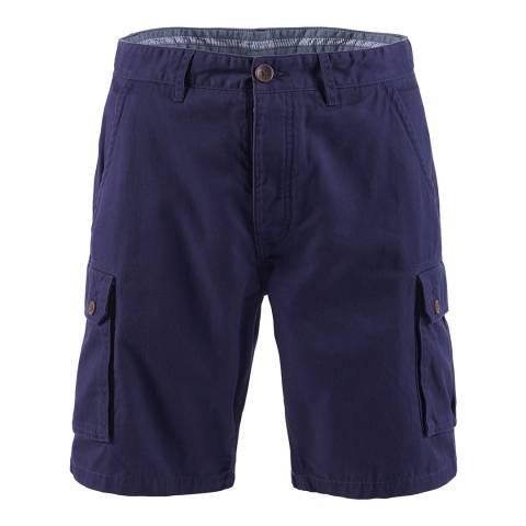 Crew Clothing Navy Cargo Short