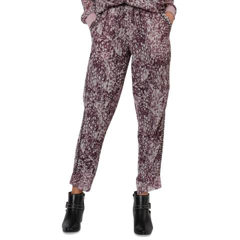 Religion Whirl Print Aspect Trousers