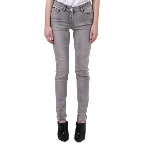 Religion Light Grey Judas Lacrimal Jeans