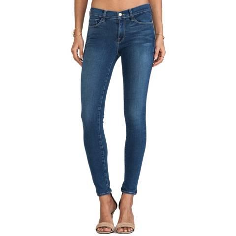 Frame Denim Light Blue Le Skinny Mid Rise Jeans