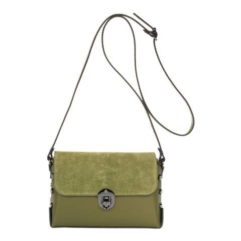 Lisa Minardi Green Leather Crossbody Bag