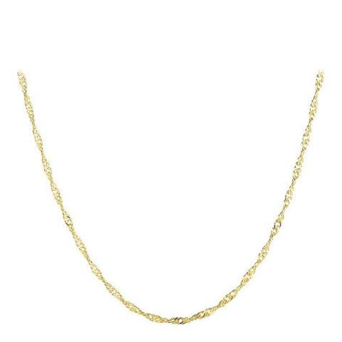 Ma Petite Amie Gold Chain Necklace