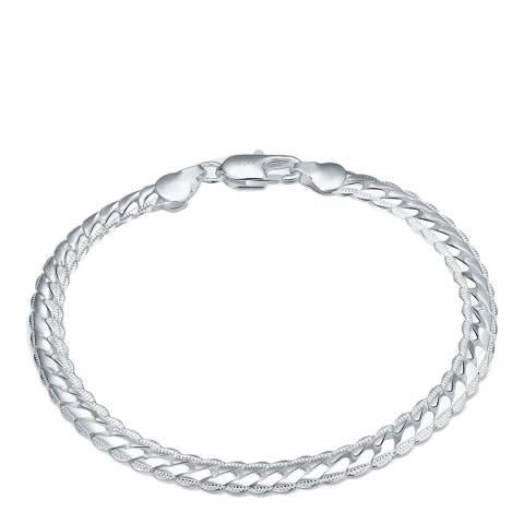 Ma Petite Amie Silver Plated Chain Bracelet