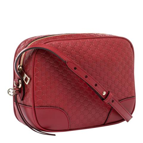 Gucci Women's Gucci Logo Leather Crossbody Handbag