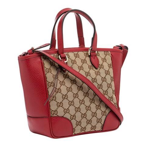 Gucci Women's Gucci Logo Canvas Handbag