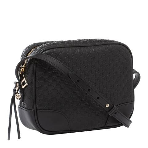 Gucci Black Bree Leather Crossbody Bag