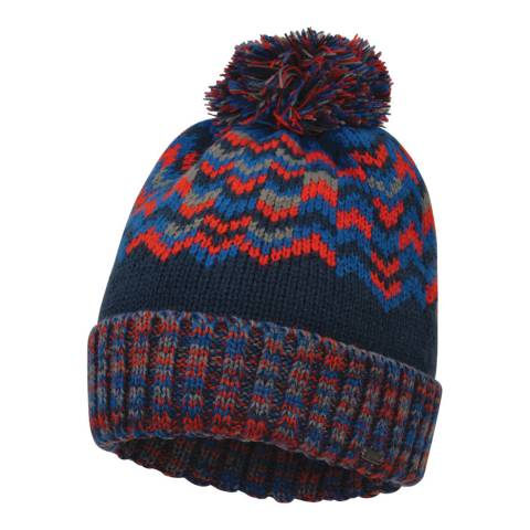Dare2B Admiral/Fiery Red Headstrong Beanie