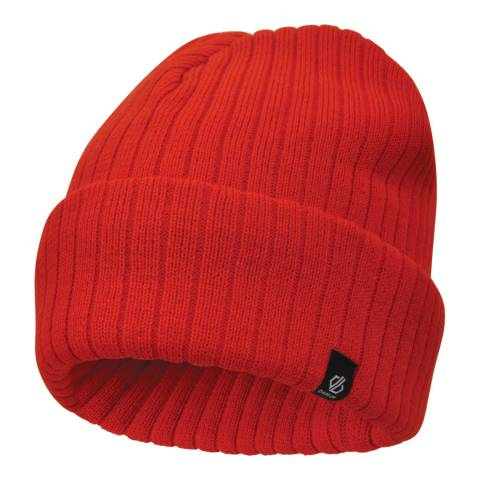 Dare2B Fiery Red On The Ball Beanie