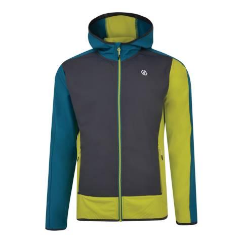 Dare2B Yellow/Charcoal Appertain II Softshell Jacket