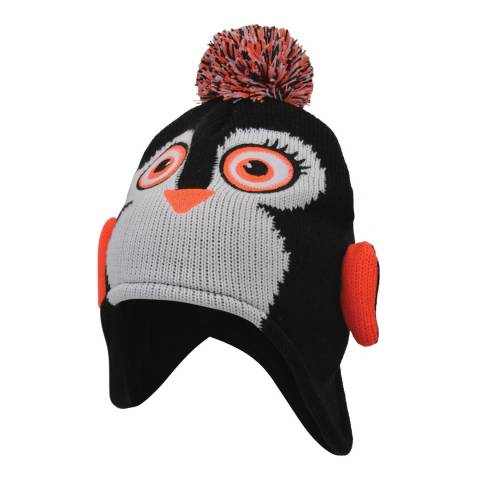 Dare2B Black Penguin Brainwave Beanie