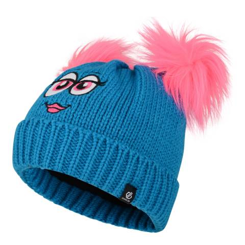 Dare2B Blue/Pink Face Brainwave Beanie