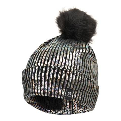 Dare2B Black Metallic Convince Beanie