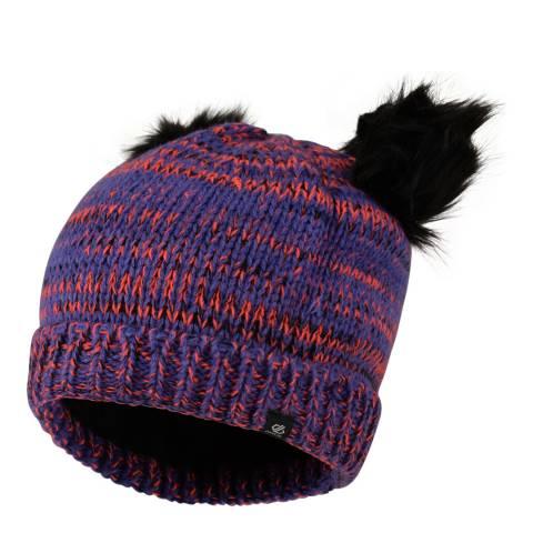 Dare2B Purple/Coral Hastily Beanie