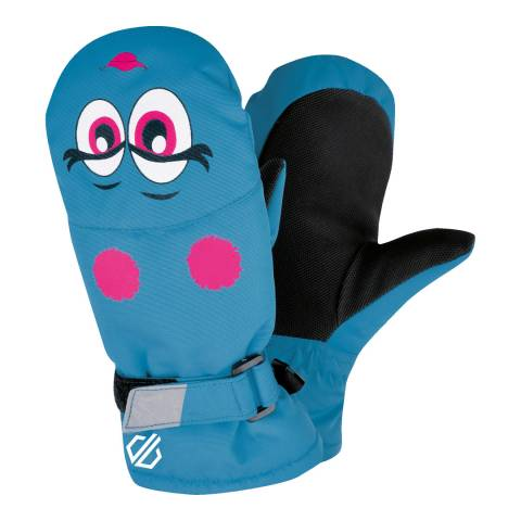 Dare2B Blue Face Brainwave Ski Mitts