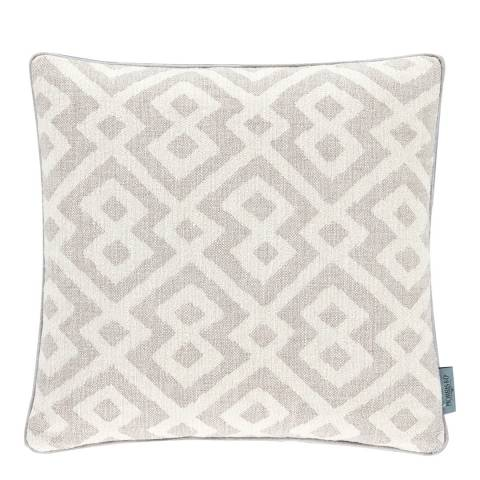 Morris Lightish Grey Pure Orkney Cushion 50x50cm