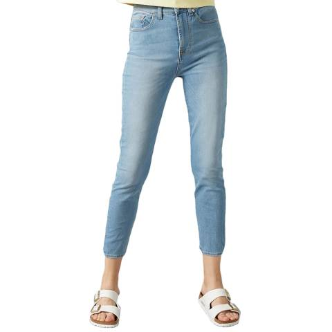 7 For All Mankind Blue Aubrey Bair Jeans