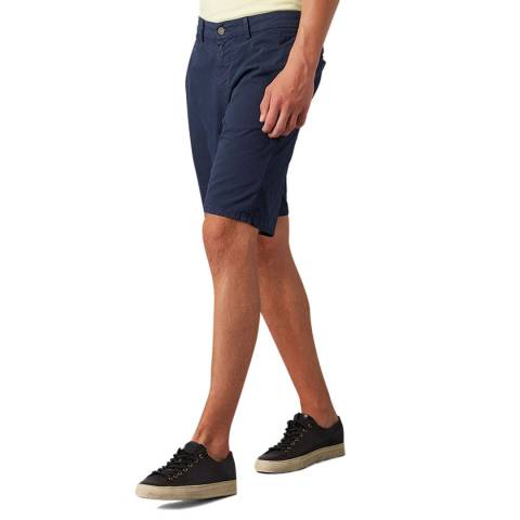 7 For All Mankind Navy Weightless Clean Shorts