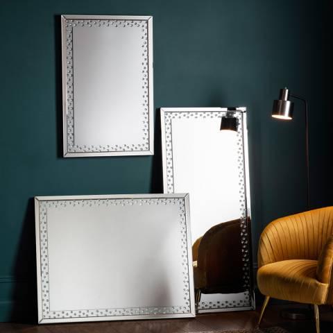 Gallery Eastmoore Silver Mirror 80x100cm