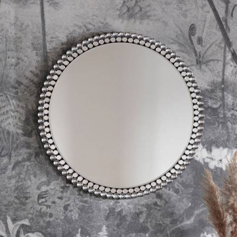 Gallery Fallon Round Mirror 80cm
