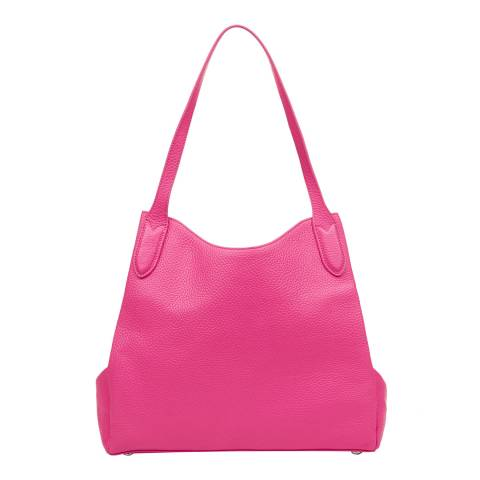 Lulu Guinness Peony Leather Jackie Tote Bag