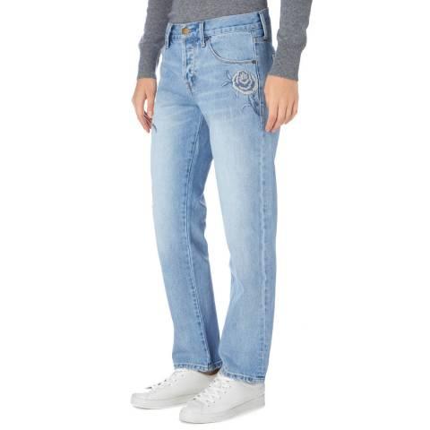 Current Elliott  Light Blue Crossover Jean