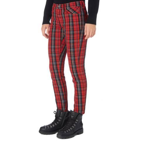 Current Elliott Red Stiletto Skinny Jean